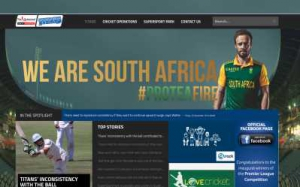 South African Cricket Website